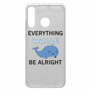 Etui na Huawei P30 Lite Everything whale be alright