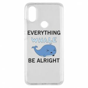 Etui na Xiaomi Mi A2 Everything whale be alright