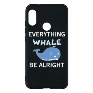 Etui na Mi A2 Lite Everything whale be alright