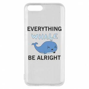 Etui na Xiaomi Mi6 Everything whale be alright