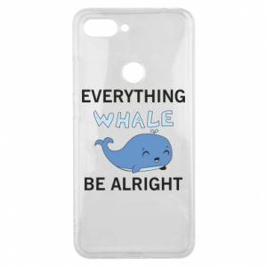 Etui na Xiaomi Mi8 Lite Everything whale be alright