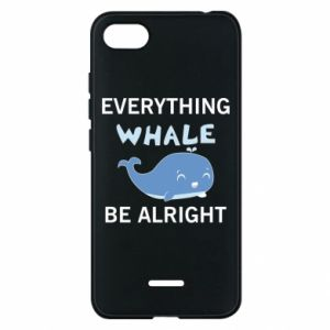 Etui na Xiaomi Redmi 6A Everything whale be alright