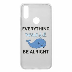 Etui na Xiaomi Redmi 7 Everything whale be alright