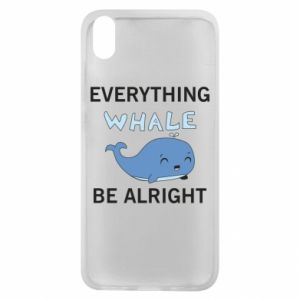 Etui na Xiaomi Redmi 7A Everything whale be alright
