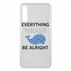 Etui na Samsung A7 2018 Everything whale be alright