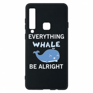 Etui na Samsung A9 2018 Everything whale be alright