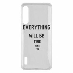 Etui na Xiaomi Mi A3 Everything will be fine... fine... fine