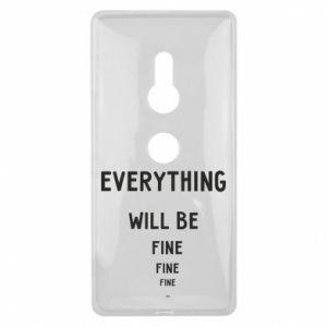 Etui na Sony Xperia XZ2 Everything will be fine... fine... fine