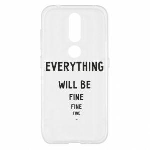 Etui na Nokia 4.2 Everything will be fine... fine... fine