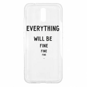 Etui na Nokia 2.3 Everything will be fine... fine... fine