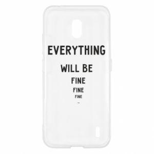 Etui na Nokia 2.2 Everything will be fine... fine... fine