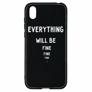 Etui na Huawei Y5 2019 Everything will be fine... fine... fine