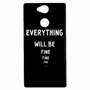 Etui na Sony Xperia XA2 Everything will be fine... fine... fine