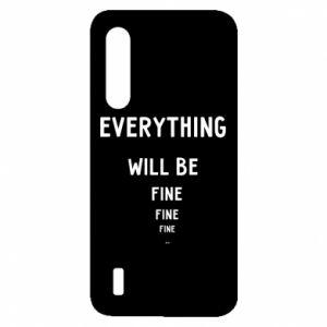 Etui na Xiaomi Mi9 Lite Everything will be fine... fine... fine