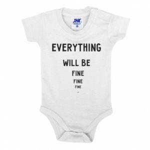 Body dla dzieci Everything will be fine... fine... fine