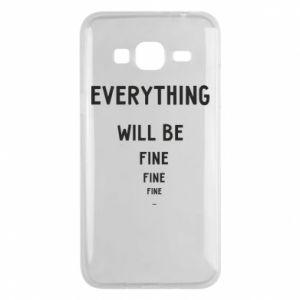 Etui na Samsung J3 2016 Everything will be fine... fine... fine