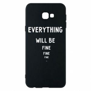 Etui na Samsung J4 Plus 2018 Everything will be fine... fine... fine