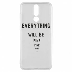Etui na Huawei Mate 10 Lite Everything will be fine... fine... fine