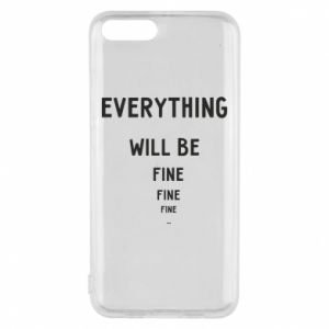 Etui na Xiaomi Mi6 Everything will be fine... fine... fine