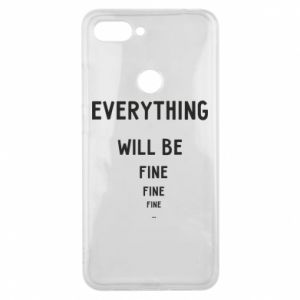 Etui na Xiaomi Mi8 Lite Everything will be fine... fine... fine