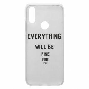 Etui na Xiaomi Redmi 7 Everything will be fine... fine... fine