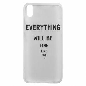 Etui na Xiaomi Redmi 7A Everything will be fine... fine... fine