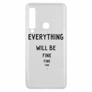 Etui na Samsung A9 2018 Everything will be fine... fine... fine