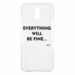 Etui na Nokia 2.3 Everything will be fine... later
