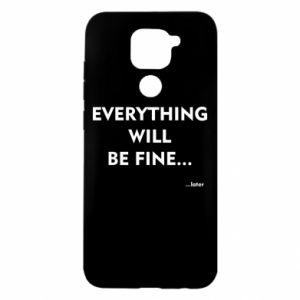 Etui na Xiaomi Redmi Note 9/Redmi 10X Everything will be fine... later