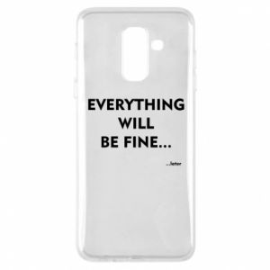 Etui na Samsung A6+ 2018 Everything will be fine... later