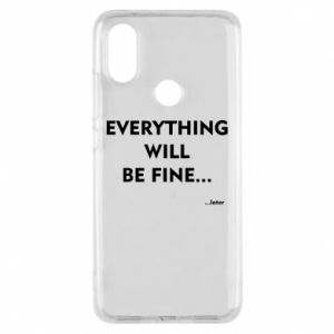 Etui na Xiaomi Mi A2 Everything will be fine... later