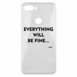 Etui na Xiaomi Mi8 Lite Everything will be fine... later