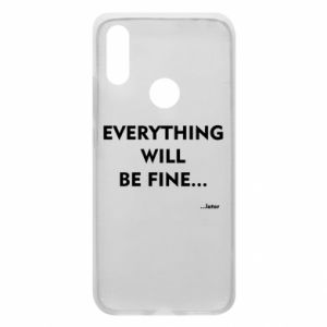 Etui na Xiaomi Redmi 7 Everything will be fine... later
