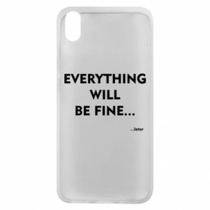 Etui na Xiaomi Redmi 7A Everything will be fine... later