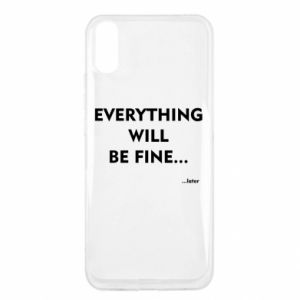 Etui na Xiaomi Redmi 9a Everything will be fine... later