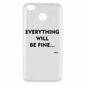 Etui na Xiaomi Redmi 4X Everything will be fine... later