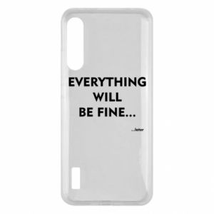 Etui na Xiaomi Mi A3 Everything will be fine... later