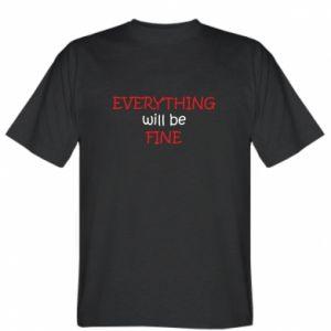 Koszulka męska Everything will be fine