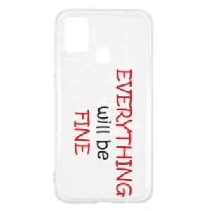 Etui na Samsung M31 Everything will be fine