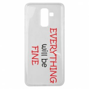 Etui na Samsung J8 2018 Everything will be fine