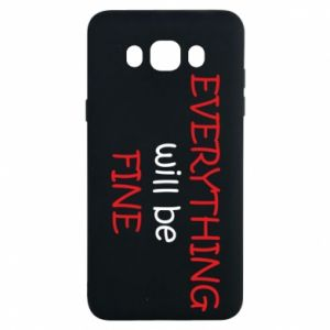 Etui na Samsung J7 2016 Everything will be fine