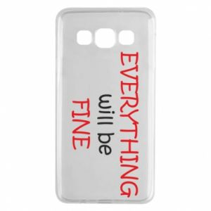 Etui na Samsung A3 2015 Everything will be fine