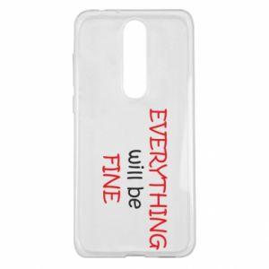 Etui na Nokia 5.1 Plus Everything will be fine