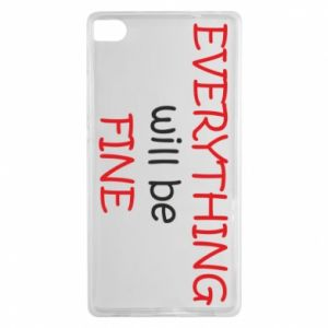 Etui na Huawei P8 Everything will be fine