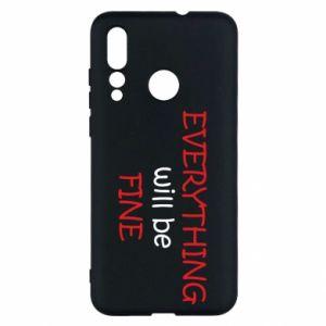 Etui na Huawei Nova 4 Everything will be fine