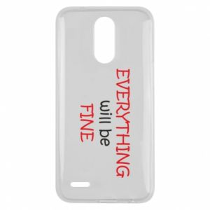 Etui na Lg K10 2017 Everything will be fine