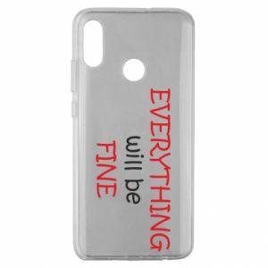 Etui na Huawei Honor 10 Lite Everything will be fine