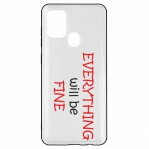 Etui na Samsung A21s Everything will be fine