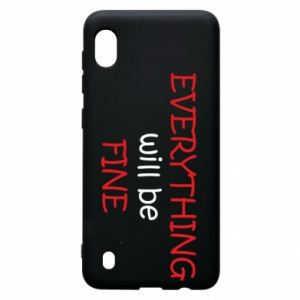 Etui na Samsung A10 Everything will be fine