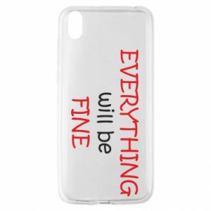 Etui na Huawei Y5 2019 Everything will be fine